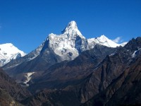 Ama Dablam:unanimously voted Sexiest Mountain in the World.