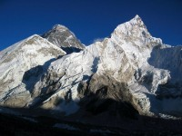 Nuptse on the right.....